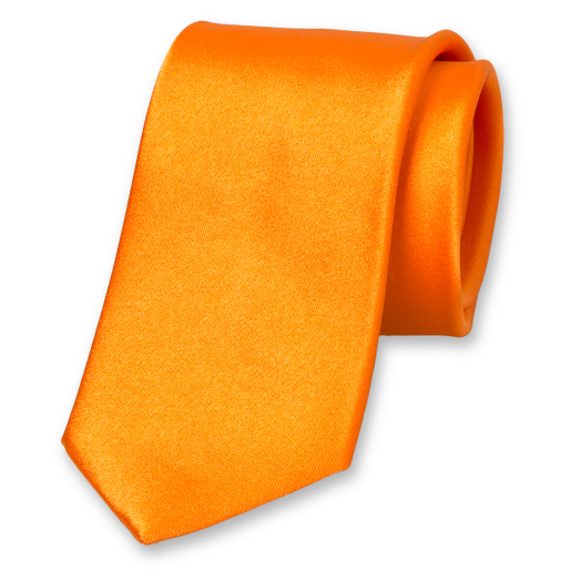 Slips Orange - Satin Siden (1)